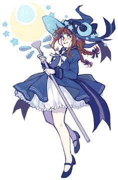 i wanted to draw everyone from wadanohara tbh