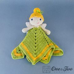 Fairy security Blanket - FREE Crochet Pattern