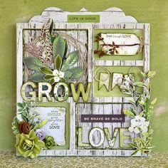 Коллаж о любви и природе Эта коллекция в Scrapbook.kz: http://www.scrapbook.kz/products/78/