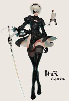 NieR Automata 2B