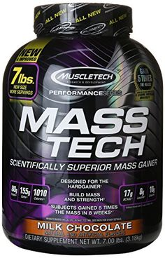Mass tech performance - 7.055 lbs - Chocolate - Muscletech