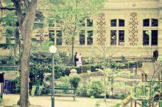 Paris, by NikitaDB. Mairie 12e arrondissement. Wedding in progress.