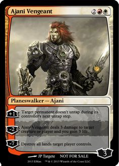 Ajani Vengeant Mtg Planeswalkers, Magic Cards, Wizards Of The Coast, Magic The Gathering, Alters, Nerd Stuff, The Magicians, Creatures, Characters