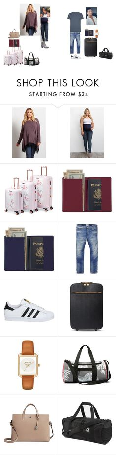 """Off to Spain (READ)"" by tinkerprincess26 on Polyvore featuring Ted Baker, Royce Leather, Scotch & Soda, adidas, STELLA McCARTNEY, MICHAEL Michael Kors, Lodis, Reebok and AllSaints"