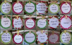 The Names of Jesus Christmas Garland