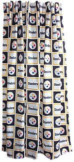 Pittsburgh Steelers Shower Curtain