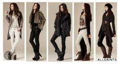 allsaints outfits baggy pants leather jackets  LOVE ALL SAINTS SPITALFIELDS
