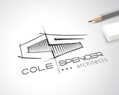 Logo Design - Cole Spencer Architects #logo #branding #uniqueartem