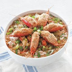 """""""During the 1970s, in the spring at the height of crawfish season, the Angelle family from Arnaudville, Louisiana, would invite me to help them make their annual batch of crawfish bisque. It was a long, but fulfilling day spent in their large kitchen. Though I was more than happy to join them in this time-consuming"""