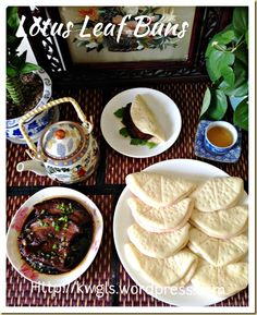 Bun In The Shape of Lotus Leaf? Lotus Leaf Buns (荷叶包) | GUAI SHU SHU#guaishushu #kenneth_goh#荷叶包#lotus_leaf_buns