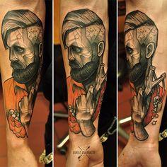 Done by Lukas Zglenicki, tattoo artist at Cykada Tattoo Studio (Sopot), Poland TattooStage.com - Rate & review your tattoo artist. #tattoo #tattoos #ink