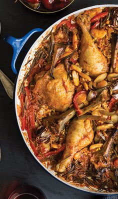 Chicken Paella with Lima Beans & Artichokes