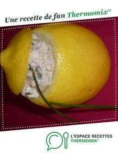 citrons farcis aux sardines par nathalbie. Une recette de fan à retrouver dans la catégorie Entrées sur www.espace-recettes.fr, de Thermomix<sup>®</sup>.