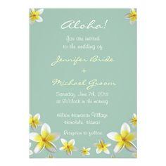 Destination Wedding Invitation #hawaii #destinationwedding #wedding #bride