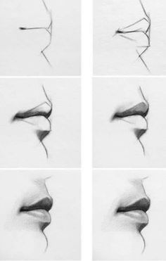 best drawing tips, disney drawings, drawing people of techniques, great examples of drawing tutorial. Art Drawings Sketches Simple, Pencil Art Drawings, Realistic Drawings, Drawing Faces, Pencil Sketching, Sketch Art, Easy Drawings, Nose Drawing, Art Du Croquis