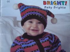 Baby Knitting Patterns For Sweater, Pants, Hat, Booties And Mitts/ Sizes: 3 - 18 months/ Patons/ Fair Isle, Nordic, Raglan/ 4 Outfits by RedWickerBasket on Etsy