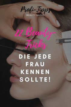 With these expert tricks you look every day as styled by a professional! - Beauty Tipps und Tricks - Make up Beauty Care, Beauty Makeup, Eye Makeup, Diy Beauty, Beauty Ideas, Homemade Beauty, Face Beauty, Beauty Photos, Beauty Trends