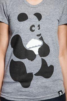 Johnny Cupcakes  panda shirt