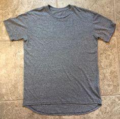 Lularoe Patrick Size Large Heathered Grey #Lularoe #BasicTee
