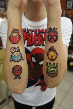 deadpool tattoos - Google Search