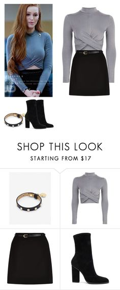 """""""Cheryl Blossom - Riverdale"""" by shadyannon ❤ liked on Polyvore featuring Ted Baker, Topshop, New Look and Alexander Wang"""