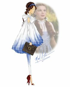 Disney Princess Fashion, Disney Style, Disney Art, Fashion Sketches, Fashion Drawings, Cosplay, Cool Animations, Character Outfits, Wizard Of Oz