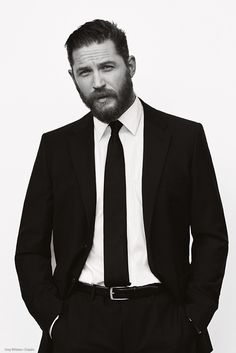Hair and beard -- Tom Hardy