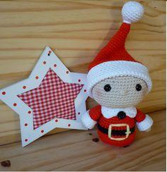 "Street grandmother: ""TELMO"" little helper Santa Claus Love Crochet, Crochet Gifts, Diy Crochet, Crochet Toys, Christmas Toys, Christmas Decorations, Christmas Ornaments, Toys For Tots, Santa's Little Helper"