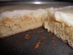 Dreaming of White Chocolate: White Chocolate Brownies - food,