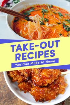 22 Homemade Versions Of Your Favorite Take-Out Foods #takeout #takeoutrecipe