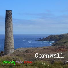 There are lots of signs of the past along the #coast here at #cornwall. The chimneysfrom the old mines