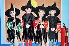 """Brujitas y brujitos de la suerte: alegria, amor, salud y risas muchas risas!! Proyecto """"Somos brujas y brujos de la suerte"""" Curso 2003-2004 CEIP Fray Pablo de Colindres."""