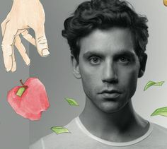 Artwork from Mika's 3rd album, The Origin of Love