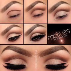 Stunning Cut Crease Eye Makeup