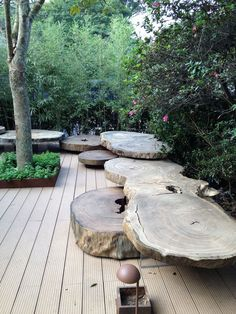 (via (1) alex hanazaki paisagismo / jardim hana zaki, mostra black | Garden | Pinterest | Alex O'loughlin, Benches and Woods)