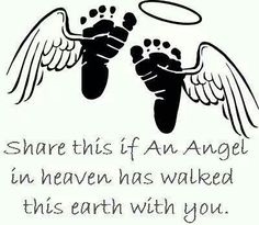 Would make a great tattoo idea for those who have lost a child.