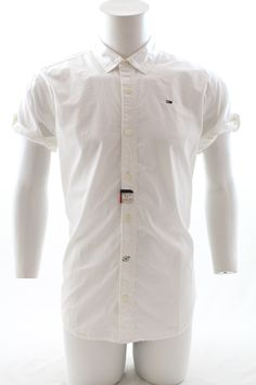 Hilfiger Denim Travolta Short Sleeve Shirt Classic White £55