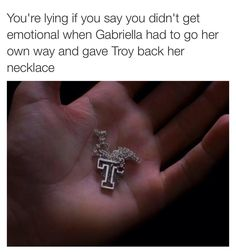 Love HSM, but Gabriela was a right bitch as she left Troy in all of the HSM- so sad!