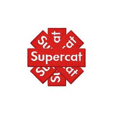 Red hot #SuperCat #DonDada #BarbaraKruger #Embroidered #IronOn #Patch #ChampionSound #Selector