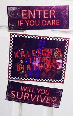 Birthday Pinata, 13th Birthday Parties, Twin Birthday, Carnival Birthday, Birthday Games, 11th Birthday, Slumber Parties, Fnaf Cake, Happy Birthday Printable