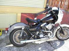 1991 Harley FXRS as a fxrp fxrt fxrd wanna be