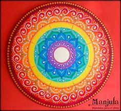 Resultado de imagen para manjula mandalas Mandala Art Lesson, Mandala Painting, Dot Painting, Elefante Hindu, Mandala Dots, Mandala Coloring, Rangoli Designs, Easy Paintings, Sign Design