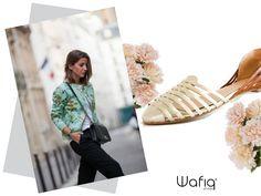 Siéntete cómoda y #chic con unos lindos flats! #WafiqShoes