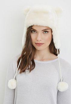 Faux Fur Ears Trapper Hat | Forever 21 - 2000179672