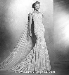 7. Spitze Meerjungfrau Brautkleid mit schleppe  Alle Brautkleid http://de.lady-vishenka.com/fishtail-wedding-dress-train-2016/