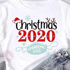 Christmas Svg, Christmas Quotes, Christmas Decorations, Xmas Shirts, Christmas Shirts, Office Xmas Gifts, Santa Hat, Cricut Craft Room, Bullet Journal Ideas Pages