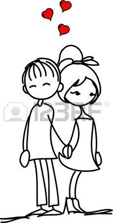 11808989-valentine-doodle-nino-y-una-nina.jpg (229×450)