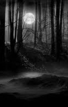 Dark things lurk in dark places - - KatnissBlack