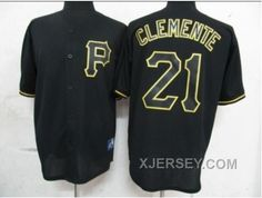 http://www.xjersey.com/new-arrival-mlb-pittsburgh-pirates-21-clemente-black-fashion.html NEW ARRIVAL MLB PITTSBURGH PIRATES #21 CLEMENTE BLACK FASHION Only 32.17€ , Free Shipping!