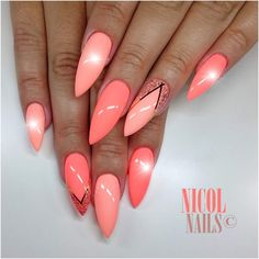 Nails The post Nails appeared first on Fox. Funky Nail Art, Funky Nails, Trendy Nails, Cute Nails, Colorful Nail Designs, Cool Nail Designs, Ongles Funky, Summer Nails 2018, Luxury Nails